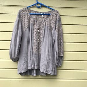 Peasant Blouse - Free People - Small